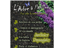 Tablet Preview of larbreapapillons.fr